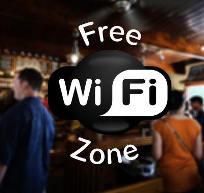 free hotel wifi zone