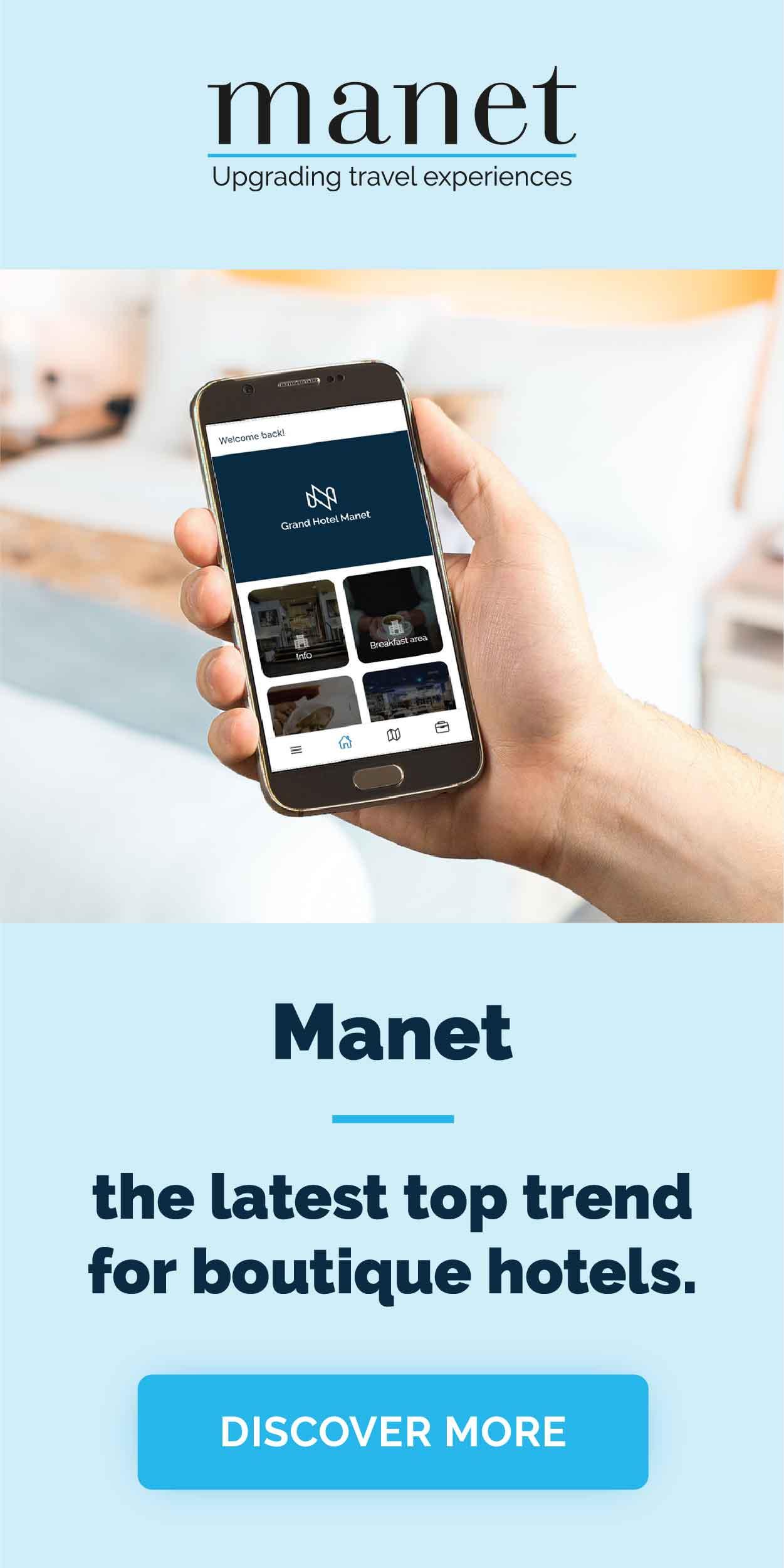 Manet Smart Mobile Travel Assistant for Boutique Hotels